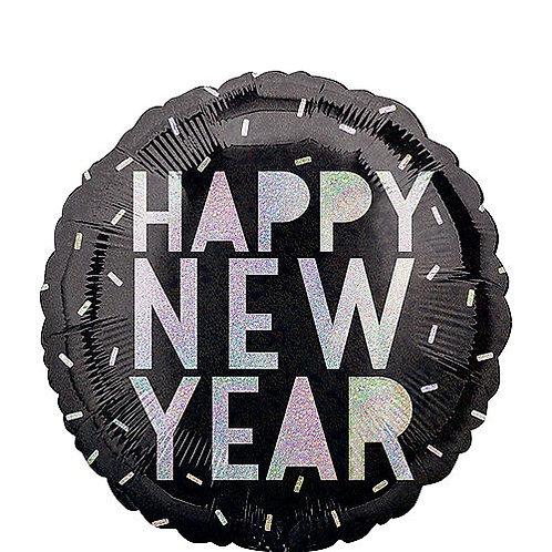 "Happy New Year 18"" Mylar"