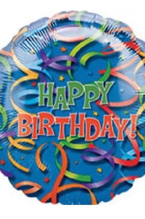 "Happy Birthday Streamers 36"" 064"