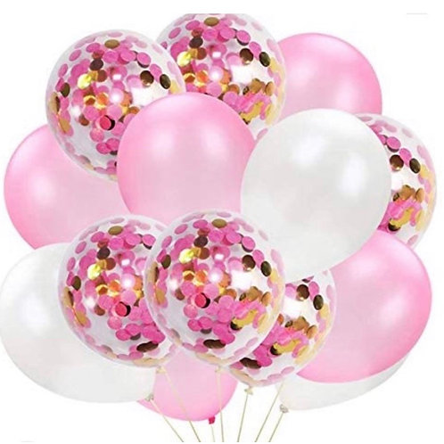 15pc Pink Confetti Bouquet