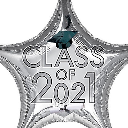 Silver Class of 2021 Star