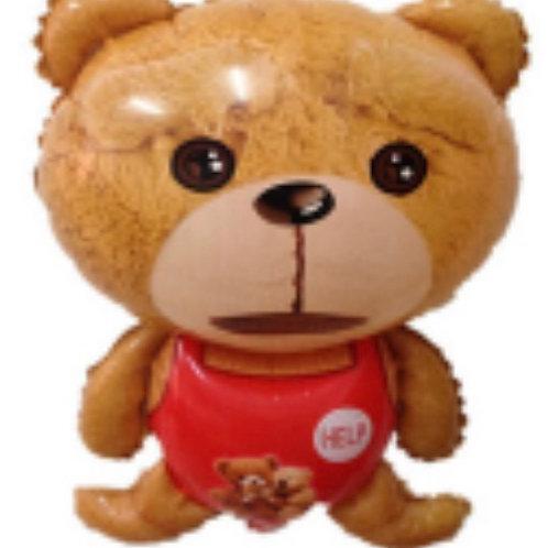Teddy Bear Mylar Balloon
