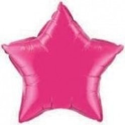 "18"" Bright Pink Star Balloon"