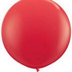 """24"""" Red Latex Balloons"""