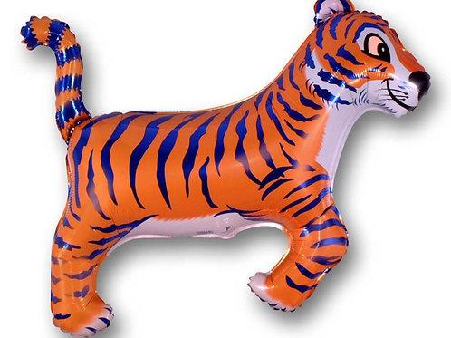 "Tiger Blue Stripes 30"" Mylar"