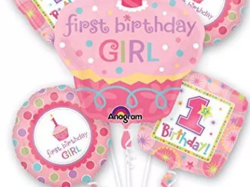 First birthday girl bouquet