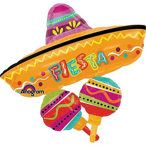 "Fiesta Sombrero 32"" Mylar"