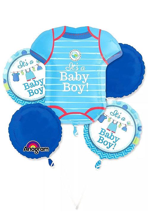 It's A Boy Blue Bouquet