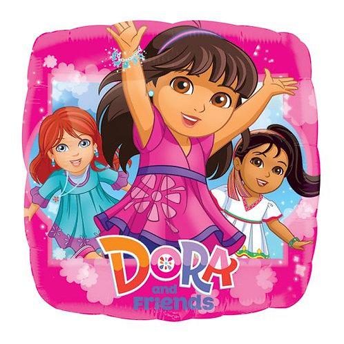 "Dora and Friends 17"" Mylar"