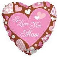 "18"" I Love You Mom Balloon"