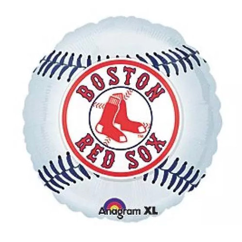 "18"" Boston Red Sox Mylar Balloon"
