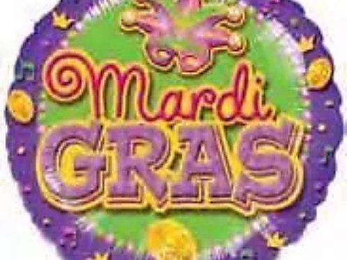 """Mardi Gras 18"""" 136"""