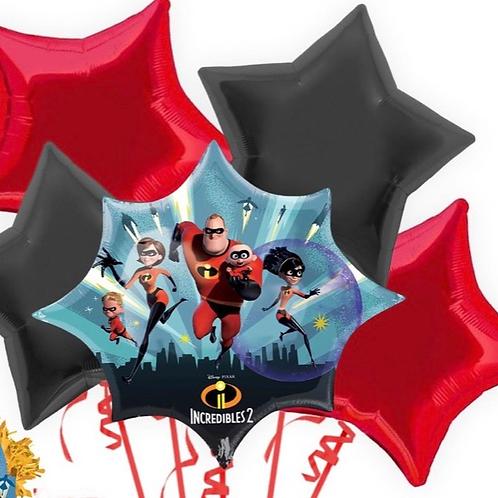 Incredibles 2 Balloon Bouquet