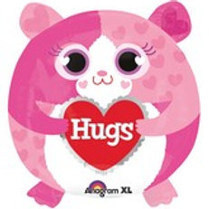 Hamster Hugs Balloon