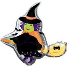 Halloween Witch Balloon
