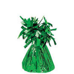Green Foil Balloon Weight 6oz