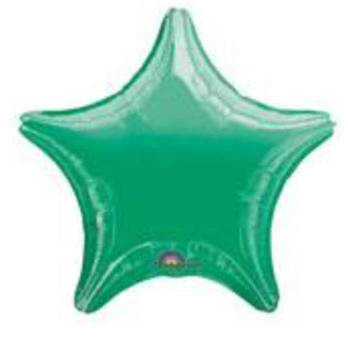 "18"" Metallic Green Star"