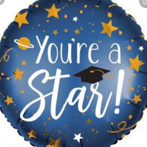 You're a Star Grad Balloon