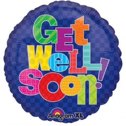 "18"" Get Well Soon 078"