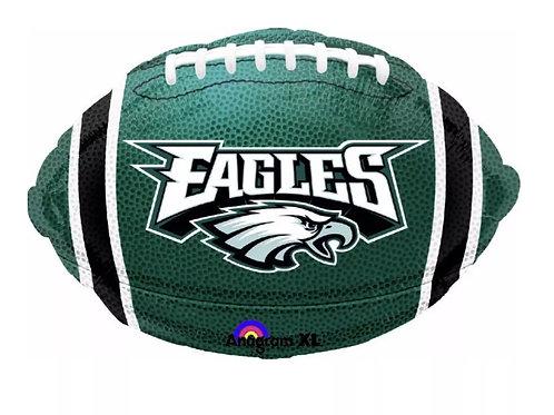 """18"""" Philadelphia Eagles Football Shaped Balloon"""