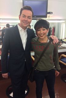 Backstage of ITV's Next Great Magician with host Stephen Mulhern.