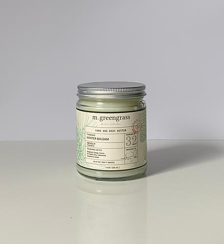 Winter Balsam Hand & Body Butter (Deluxe Size)