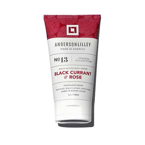 Black Currant & Rose Beach Butter Body Cream