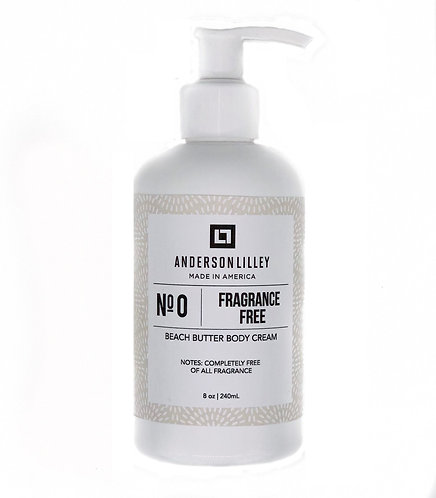 Fragrance Free Beach Butter Body Cream