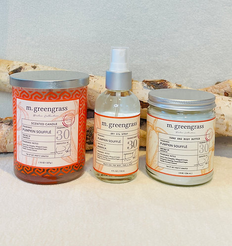 Winter Collection Pumpkin Soufflé Trio