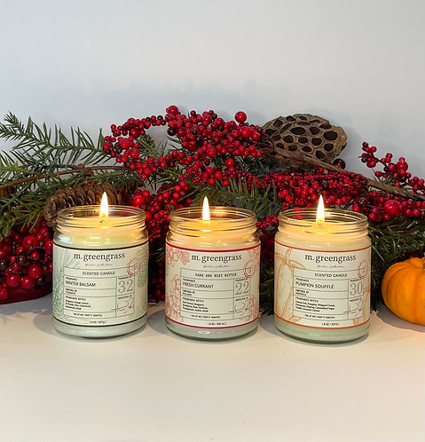 Winter Collection Candle Trio