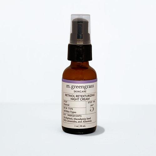 Retinol Retexturizing Night Cream | Step 5