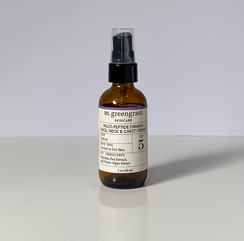 Multi-Peptide Firming Face, Neck & Chest Cream | Step 5
