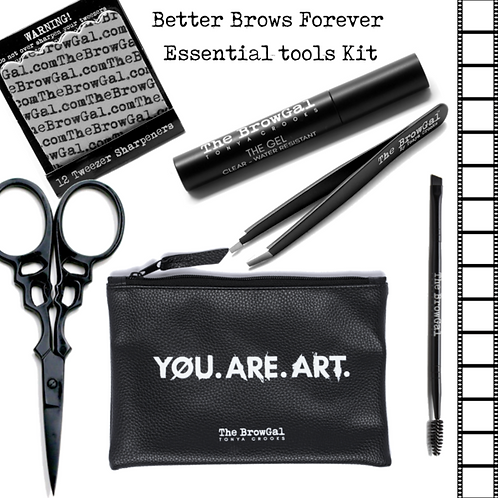 BETTER BROWS FOREVER ESSENTIAL TOOLS KIT