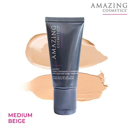 AC Smooth Crème Concealer Foundation Duo | Medium Beige