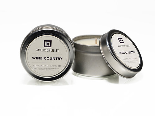 Wine Country 4 oz. Tin