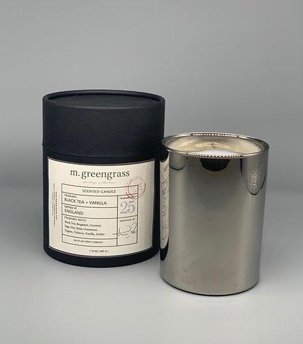 Black Tea & Vanilla | 10 oz glass Estate Collection