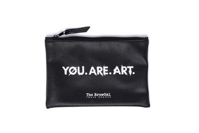 TRAVEL POUCH  - YOU. ARE. ART.