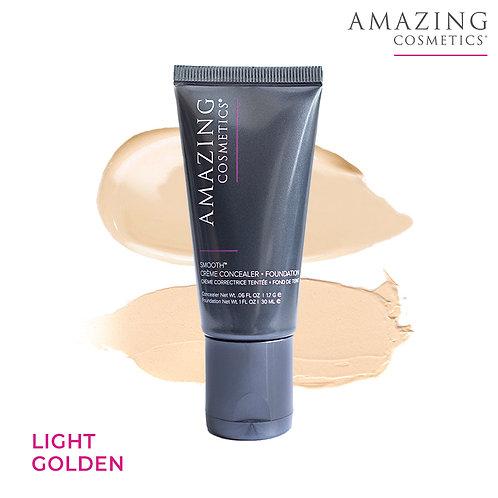 AC Smooth Crème Concealer Foundation Duo | Light Golden