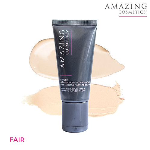 AmazingCosmetics Smooth Crème Concealer Foundation Duo|Fair