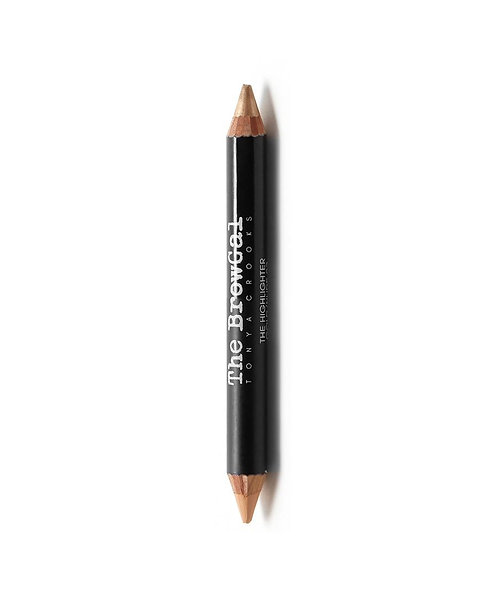 HIGHLIGHTER/CONCEALER DUO PENCIL | 02 NUDE (MATTE) & GOLD (SHINE)