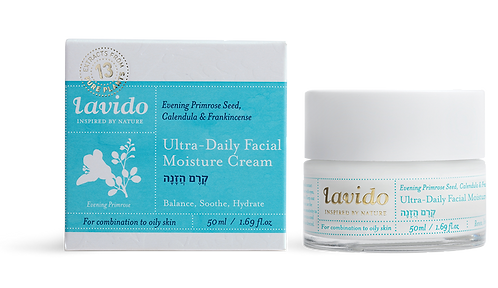 Ultra Daily Moisture Cream (Evening Primrose Seed, Calendula & Frankincense)