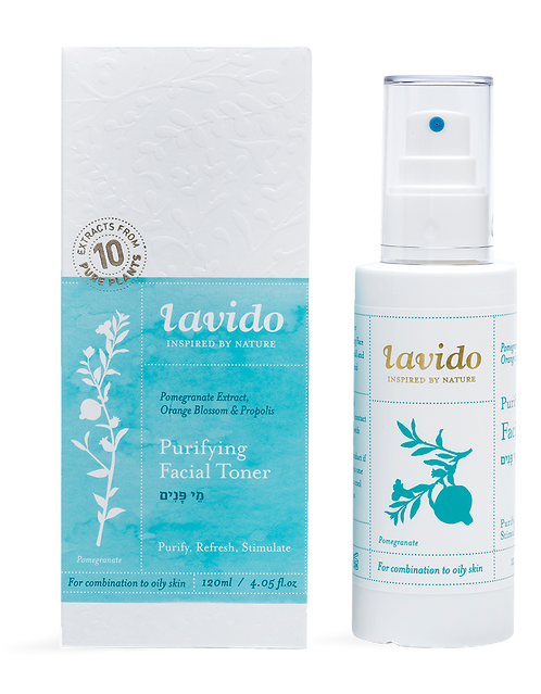 Purifying Facial Toner (Pomegranate Extract, Orange Blossom & Propolis)