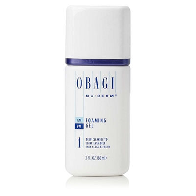 Obagi Nu-Derm Foaming Gel 2oz, Travel Size