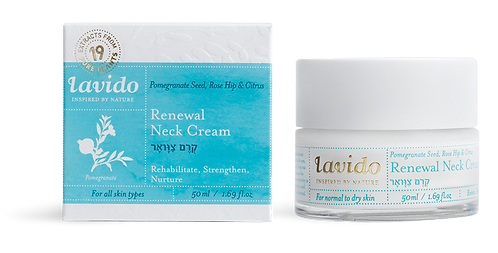 Renewal Neck Cream (Pomegranate Seed, Rose Hip & Citrus)
