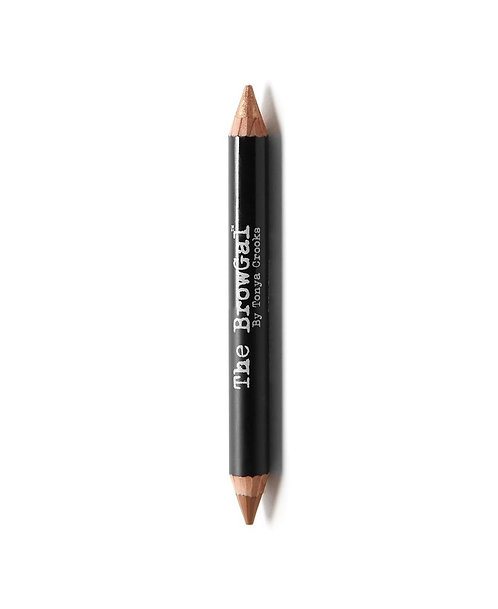 HIGHLIGHTER/CONCEALER DUO PENCIL | 03 TOFFEE (MATTE) & BRONZE (SHINE)