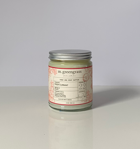 Fresh Currant Hand & Body Butter (Deluxe Size)