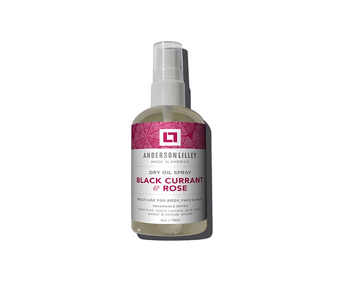 Black Currant & Rose Dry Body Oil