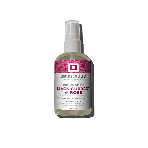 Black Currant & Rose Dry Body Oil