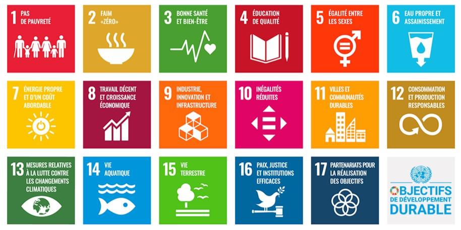 17 objectifs de developpement durable