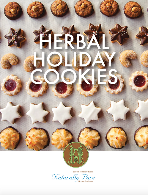 Herbal Holiday Cookies