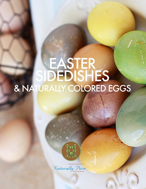 Easter Sides & Colored Eggs